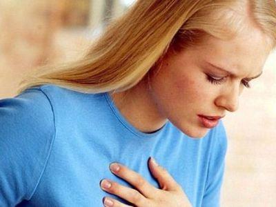 Инспираторная одышка при сердечной недостаточности -